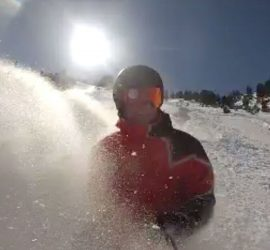 Powder day in Borovets | Snowboard Instructor Dave Goodall Snowboard Borovets
