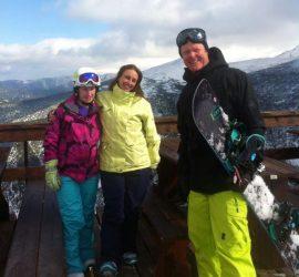 Private lessons snowboarding in Borovets Bulgaria